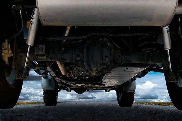 catalizador de un coche