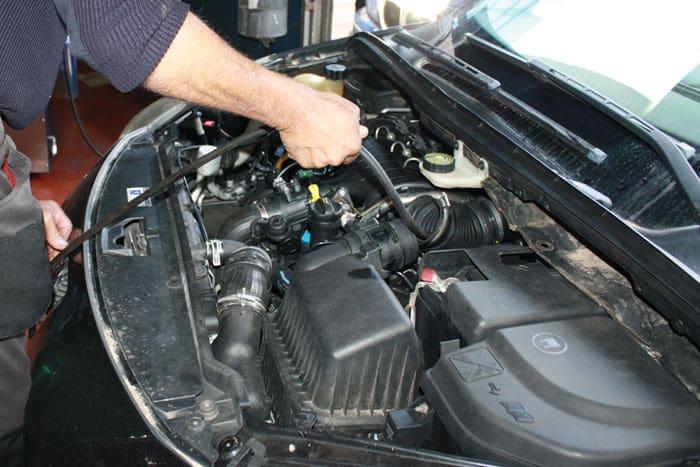 descarbonización del motor