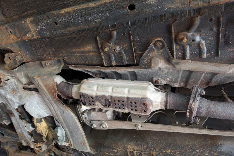 cuidar el catalizador del coche